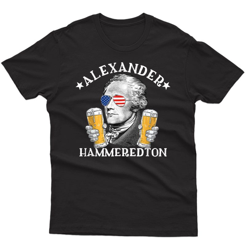 Alexander Hammeredton Beer Drinking Party T-shirt