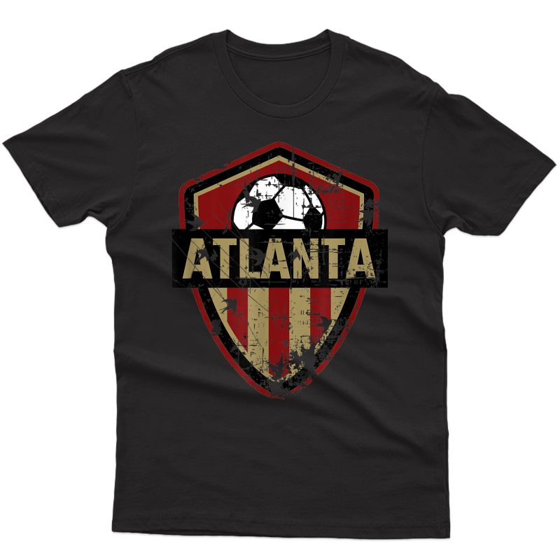 Atlanta Soccer Style United Football Fan Fc T-shirt