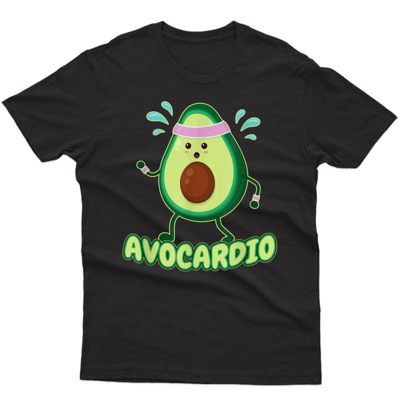 Avocardio Avo-cardio Exercising Ness Gym Runner T-shirt