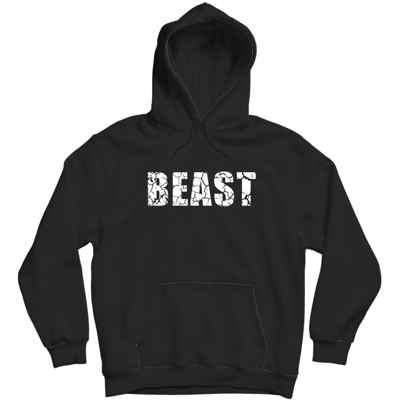 Beast Workout Gym Sport Mode Trendy Cool Looking T-shirt Unisex Pullover Hoodie