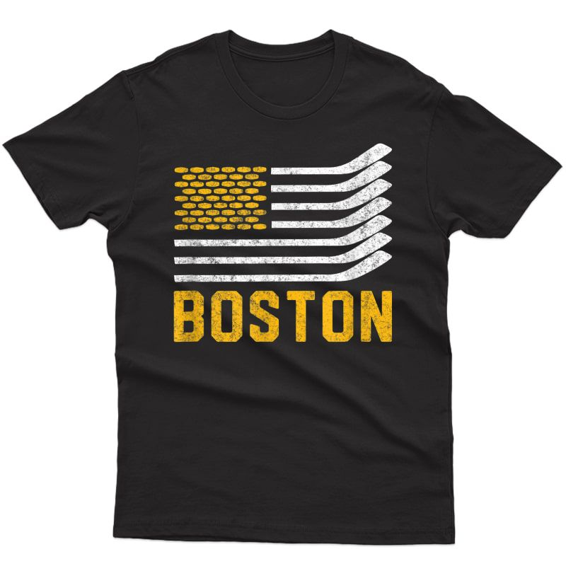 Boston Hockey Is American T-shirt