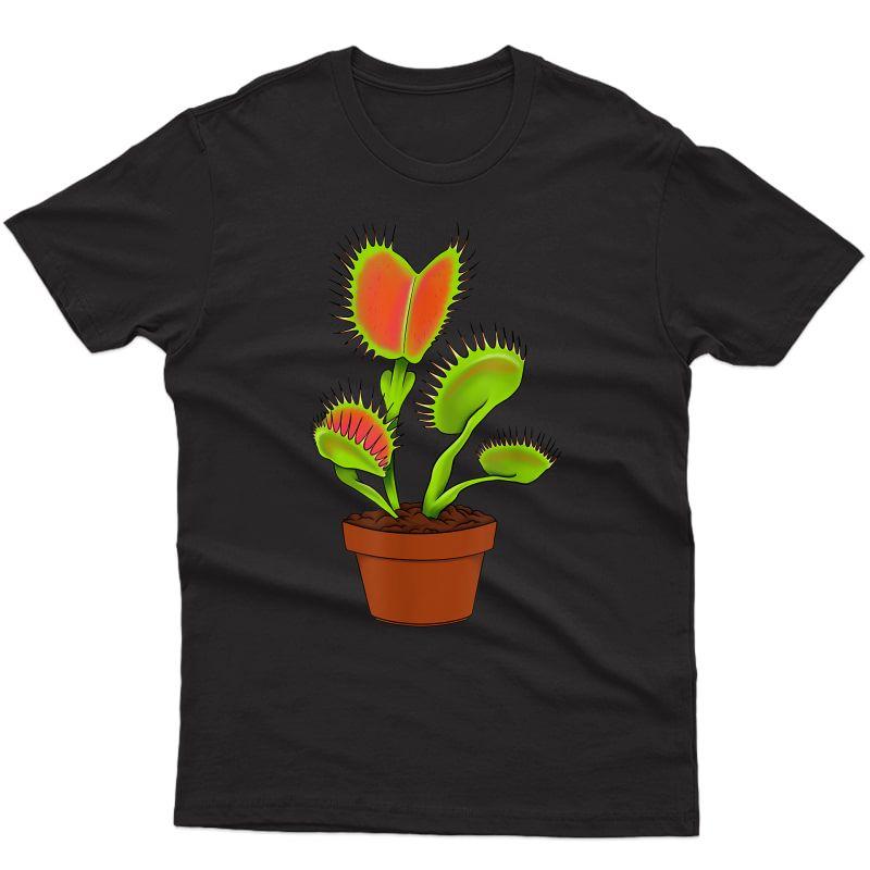 Carnivorous Plant Lady Daddy Tee Gift Idea Venus Fly Trap T-shirt