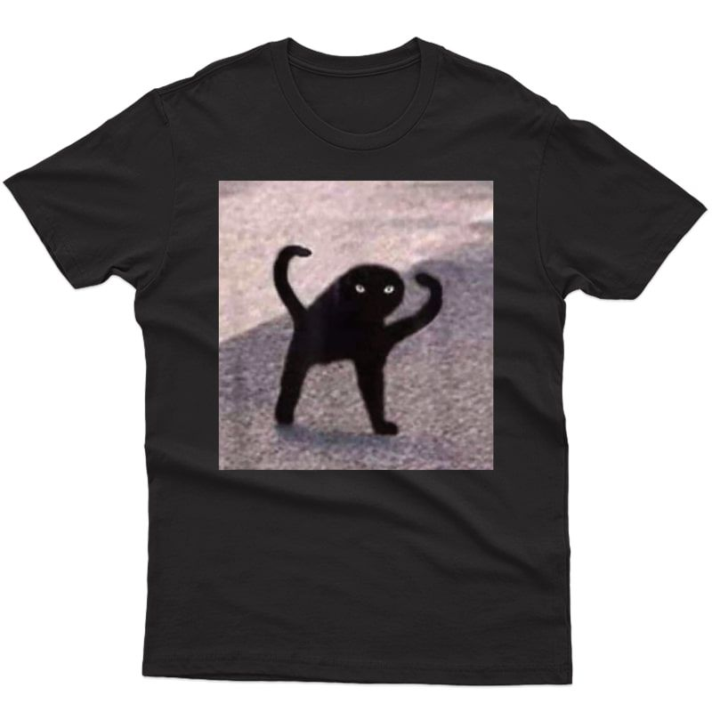 Cursed Cat Memes: Cursed Cat Angry As Fuk Meme T-shirt