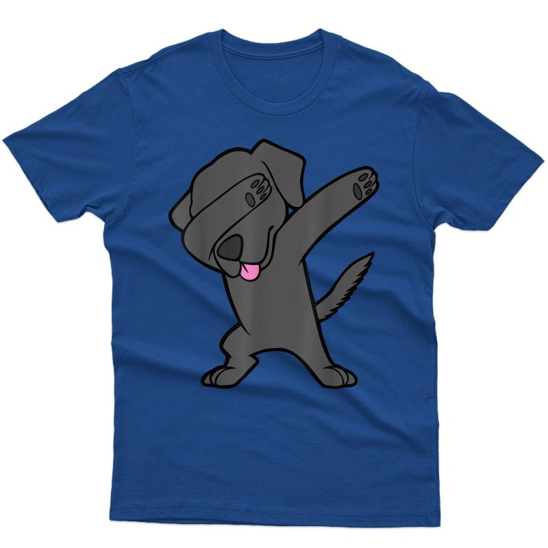 Dabbing Black Lab Retriever Hip Hop Dance Dog Dab Tshirt