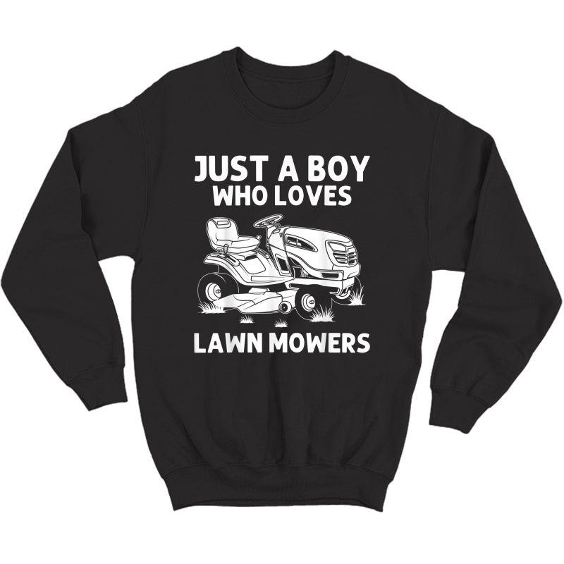 Funny Lawn Mowing Gift Lawn Mower Farm Gardening T-shirt Crewneck Sweater