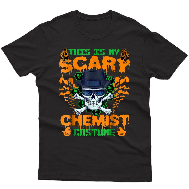 Funny T-shirt For Chemist. Best Gifts For Halloween Party