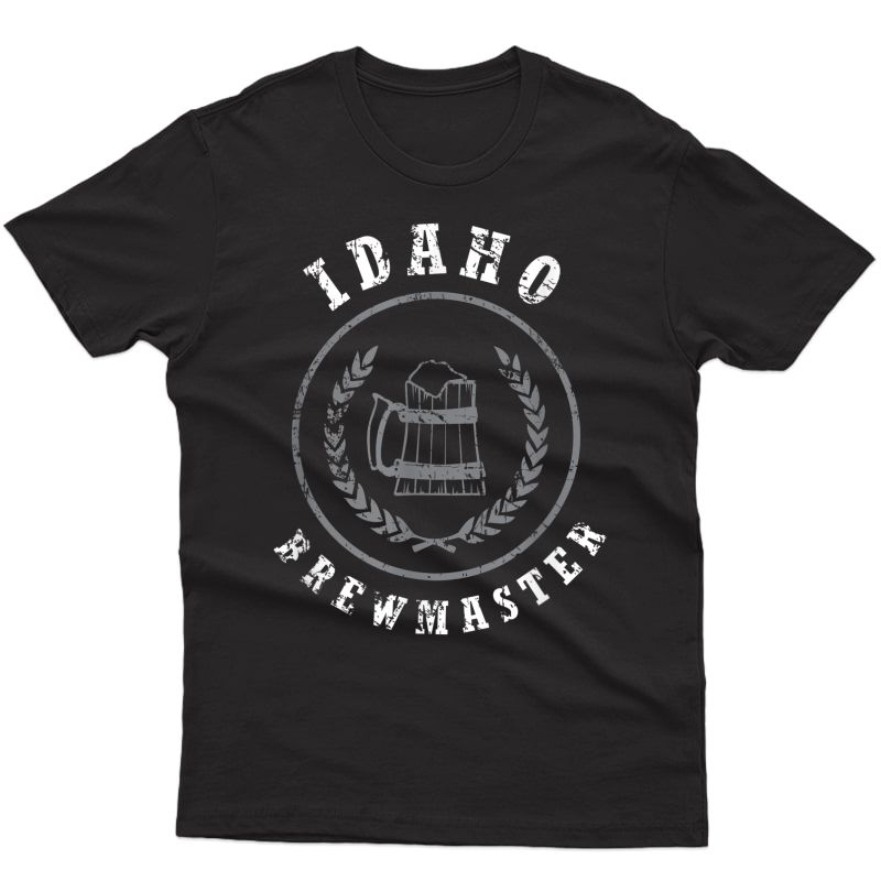Idaho Brewmaster Shirt, Funny Craft Home Brew Beer Gift