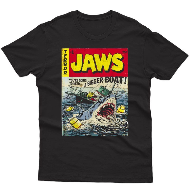 Jaws Pulp Attack Comic Cover T-shirt