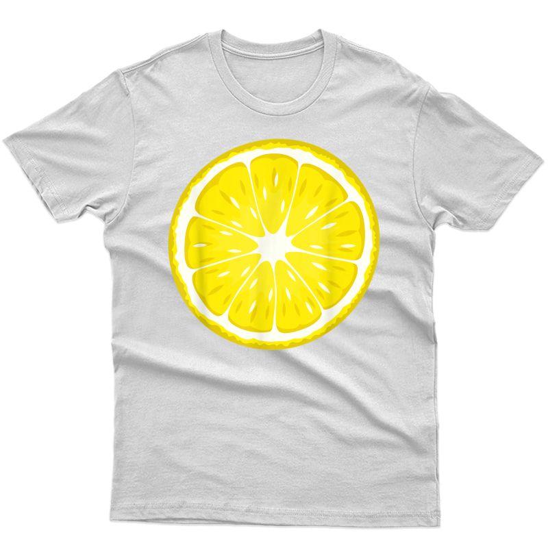 Lemon Costume T-shirt Fruit Halloween Costume Shirt T-shirt