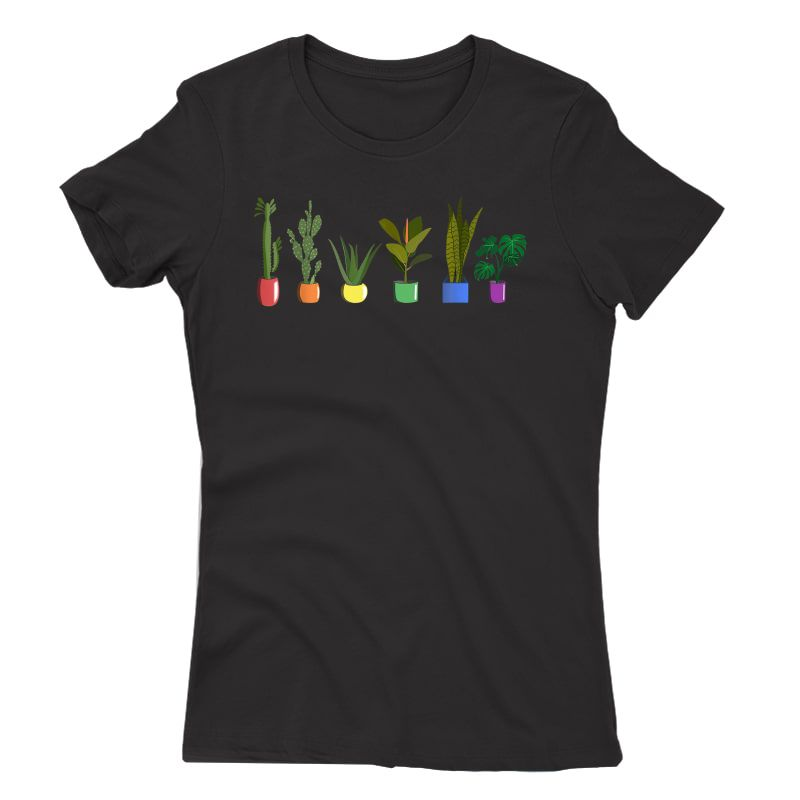 Lgbt Funny Plant Gardener Gardening Lgbt Gay Trans Pride T-shirt