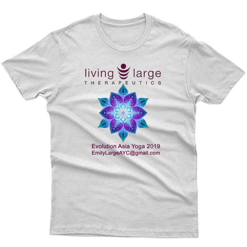 Living Therapeutics Yoga T-shirt