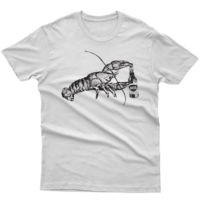 Lobster Drinking Beer Funny Craft Beer T-shirt Gift
