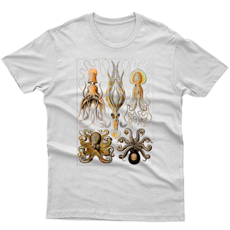 Octopus Ocean Zoology Teuthology Biologists Sailing T-shirt
