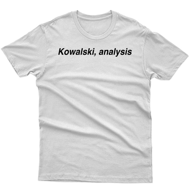 Penguin Analysis Meme T-shirt