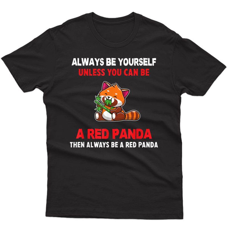 Red Panda Shirt For | & Girls Red Panda T-shirt