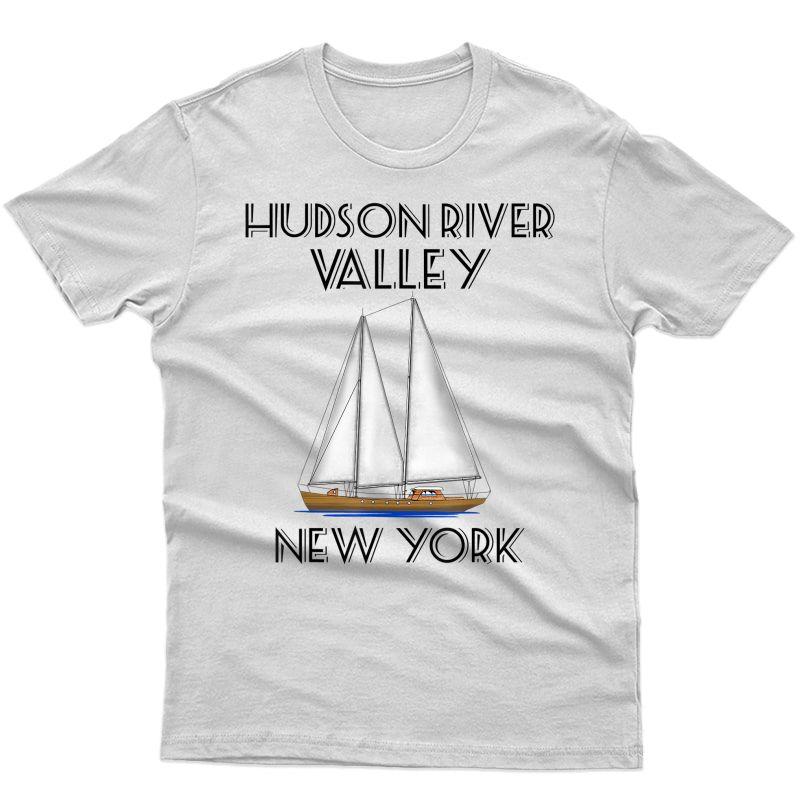 Sailing Hudson River Valley New York T-shirt