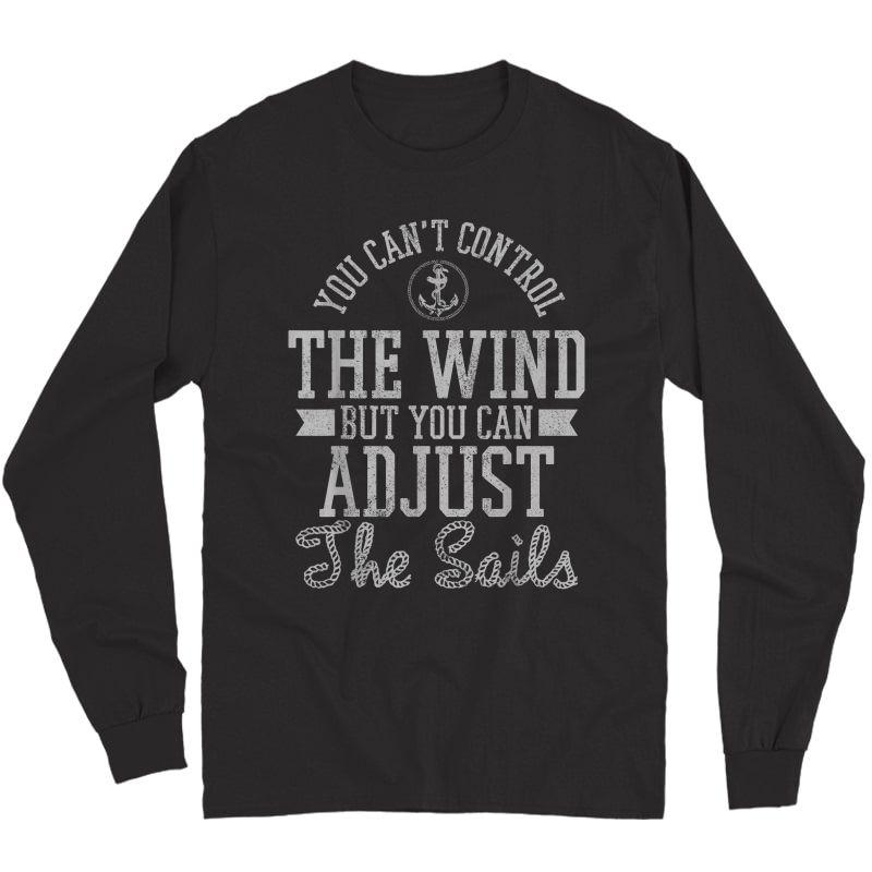 Sailing - Sailboat Boating Boat Sailor Gift T-shirt Long Sleeve T-shirt