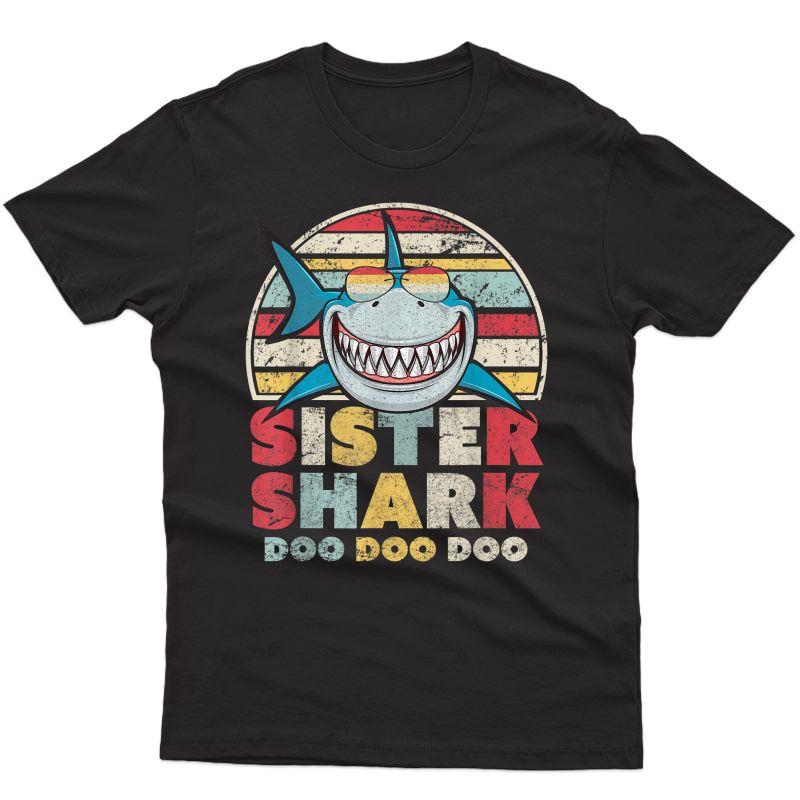 Sister Shark Shirts, Gift For T-shirt