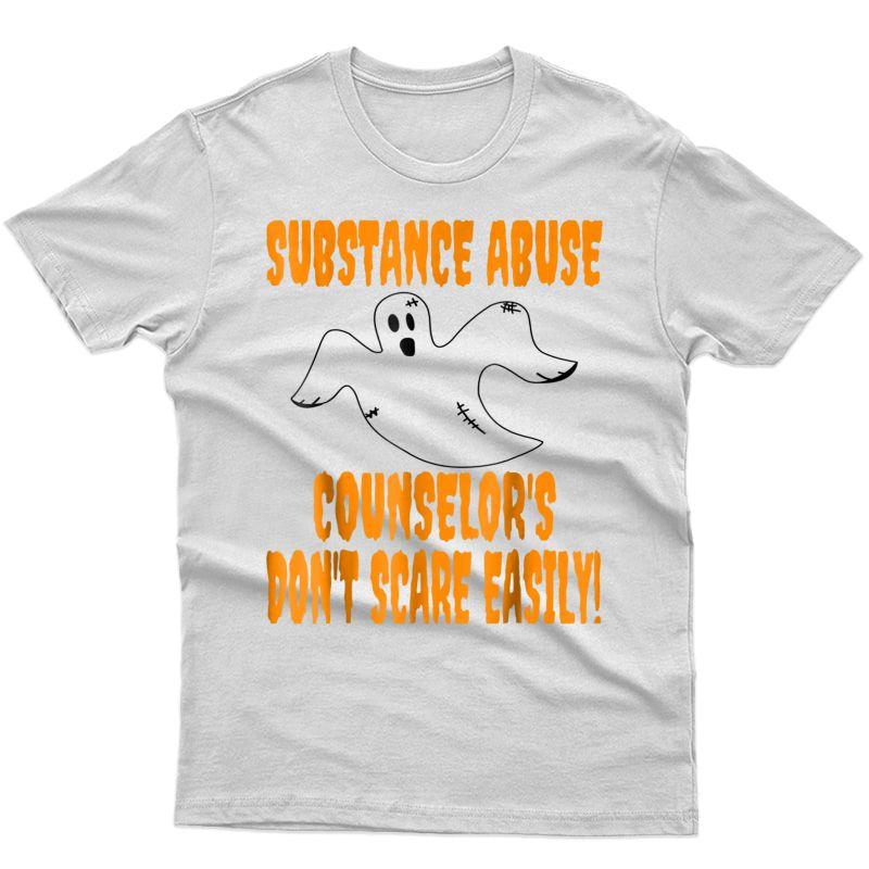 Substance Abuse Counselor Halloween T-shirt|counselor Shirt