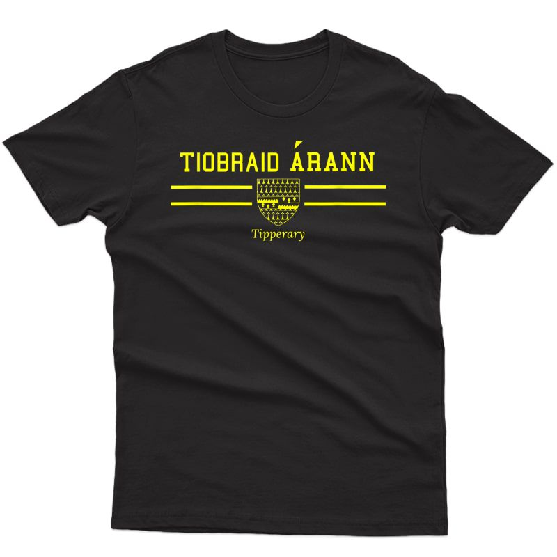 Tipperary Gaelic Football And Hurling Fan T-shirts