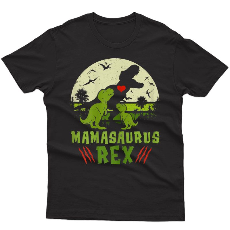 Mamasaurus Rex T Rex Dinosaur Cute Mother's Day Gifts T-shirt