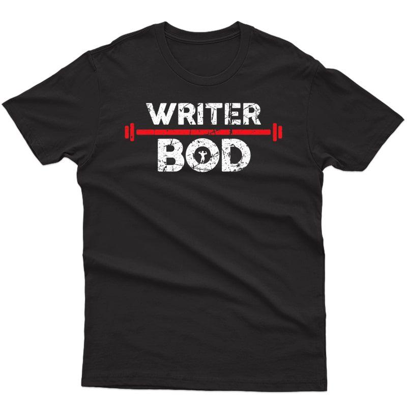 Writer Bod, Editor Blogger Exercise Gym Weightlifting Premium T-shirt